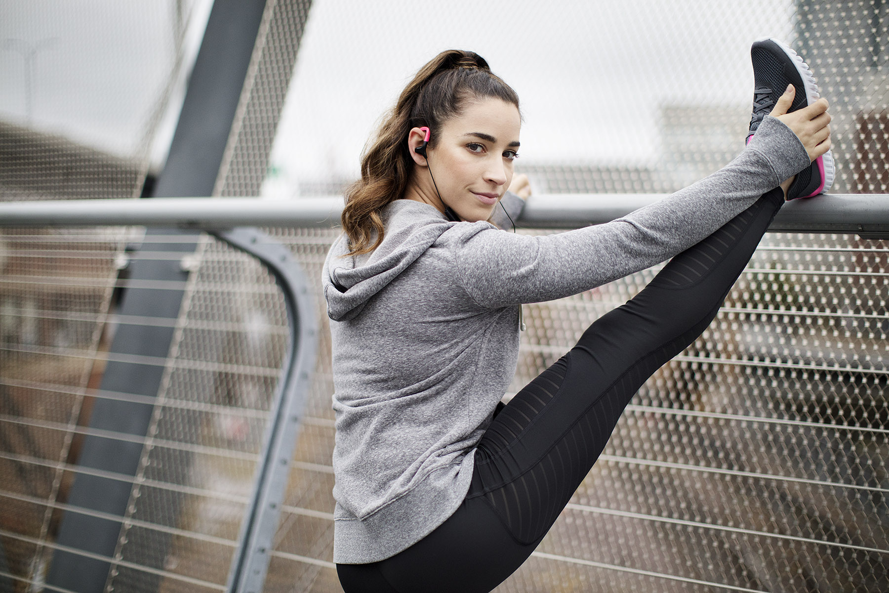 Aly Raisman for Playtex Sport by Boston based commercial lifestyle photographer Brian Nevins