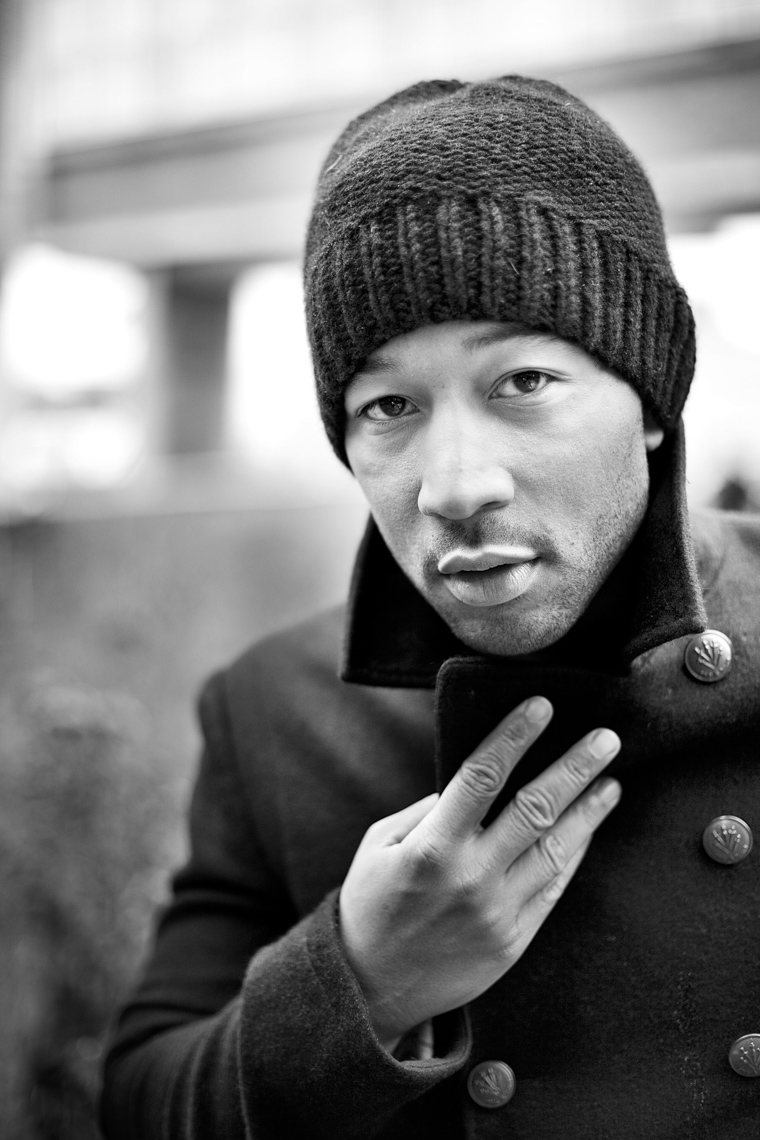 John Legend by Boston based commercial portrait photographer Brian Nevins