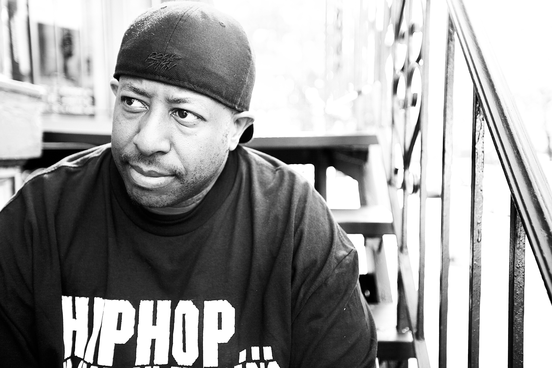 DJ Premier for Hyundai Re:Generation by Boston based commercial portrait photographer Brian Nevins