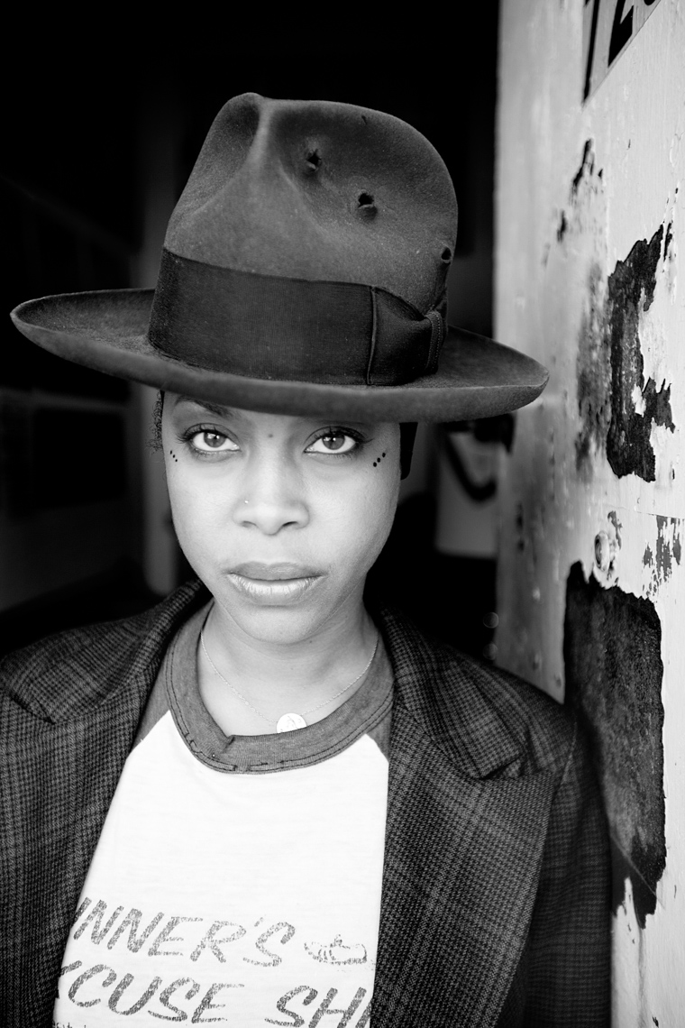 Erykah Badu for Hyundai Re:Generation by Boston based commercial portrait photographer Brian Nevins