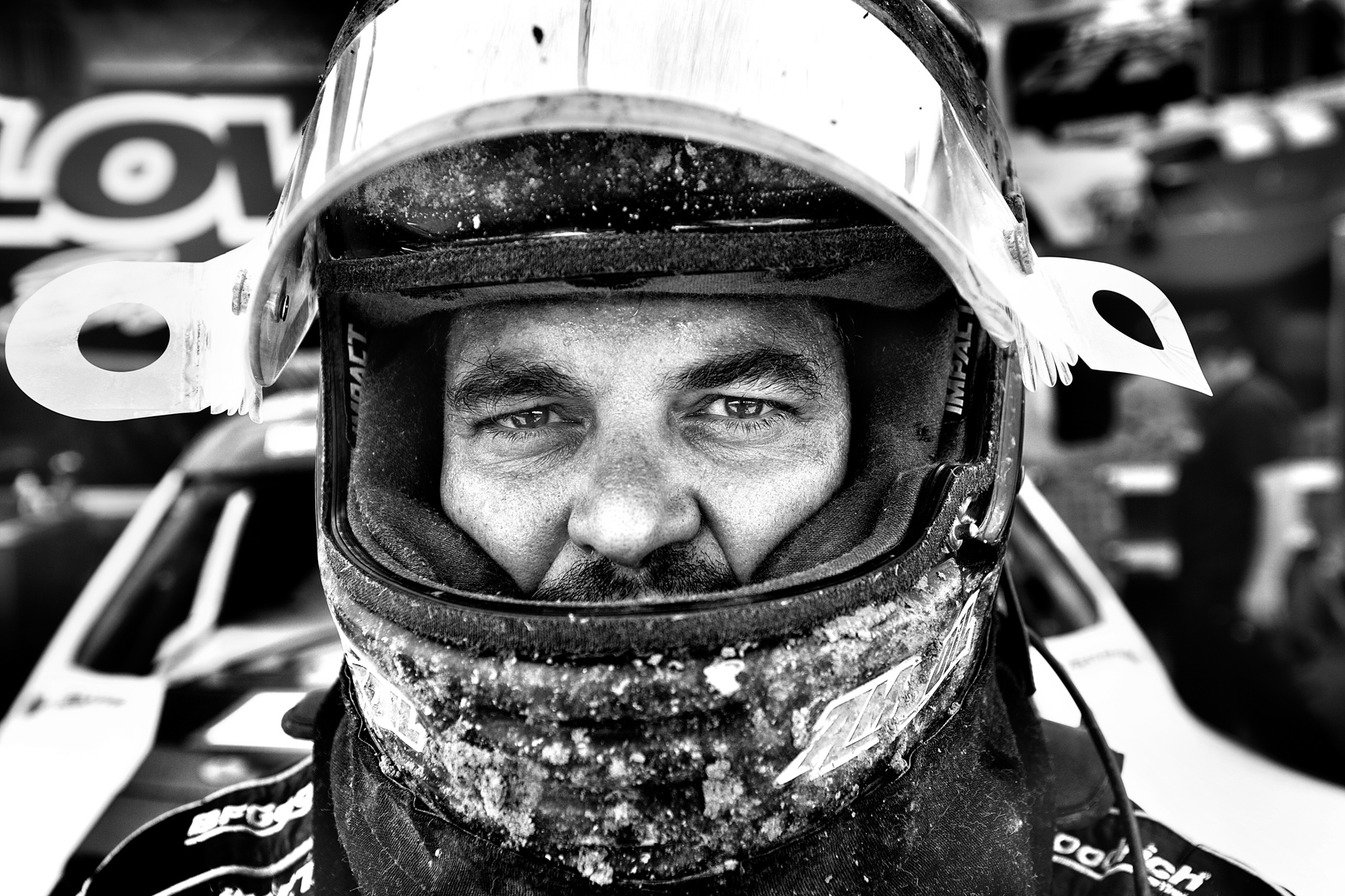 Brad Lovell TORC Offroad truck racer by Boston based commercial portrait photographer Brian Nevins