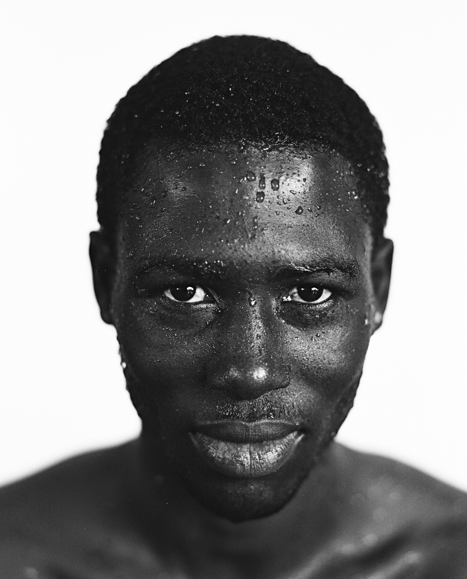 Senegal surfer by Boston based commercial portrait photographer Brian Nevins