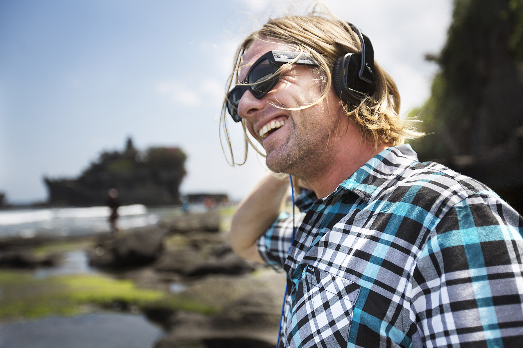 Switchfoot in Bali for Ultimate Ears by Boston based commercial lifestyle photographer Brian Nevins