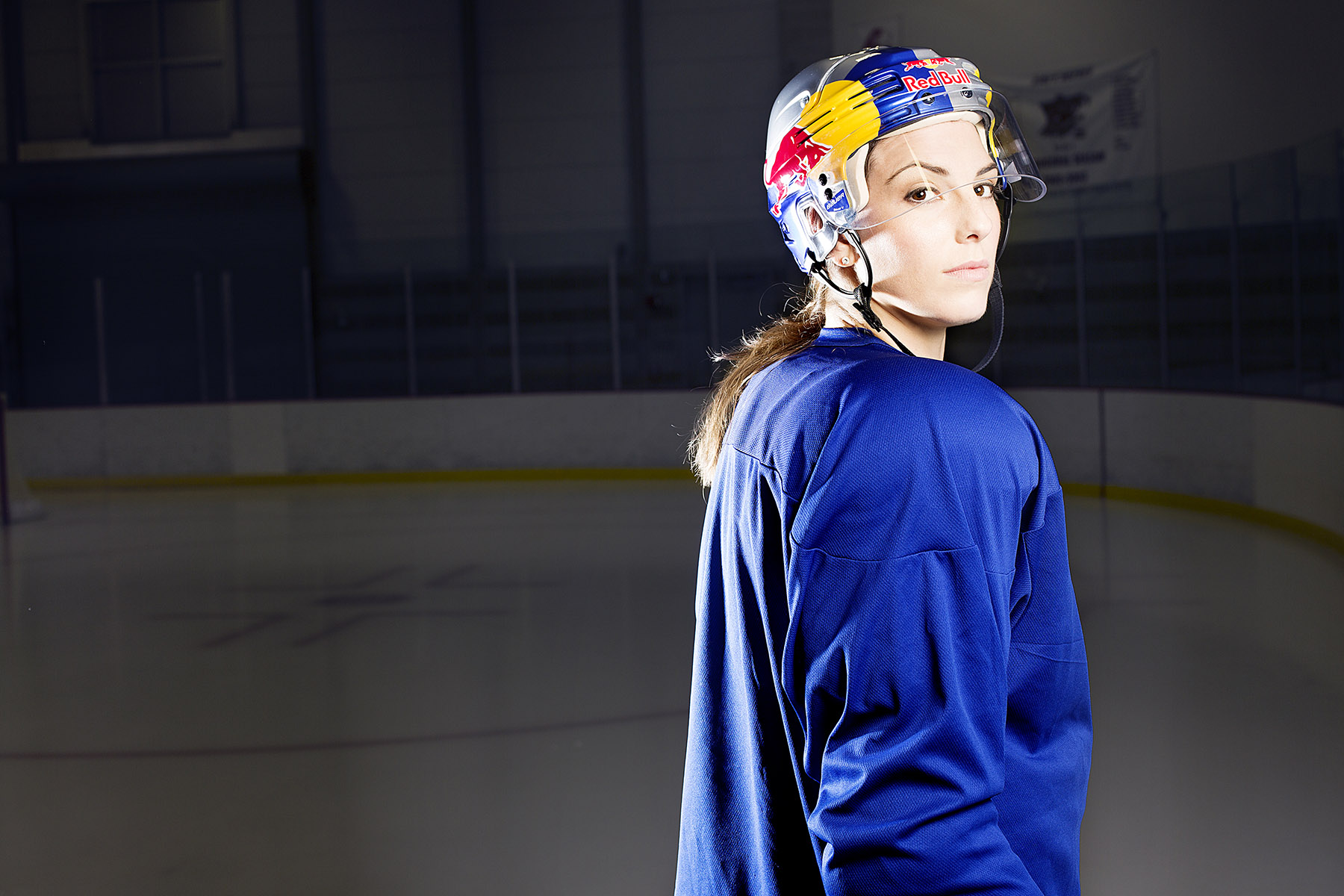 Hilary Knight for Red Bull by Boston based commercial lifestyle photographer Brian Nevins