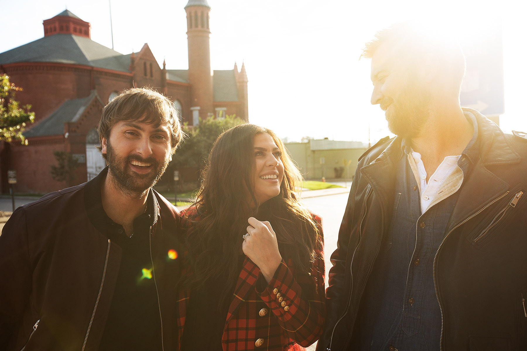 Lady Antebellum for Hilton by Boston based commercial celebrity photographer Brian Nevins