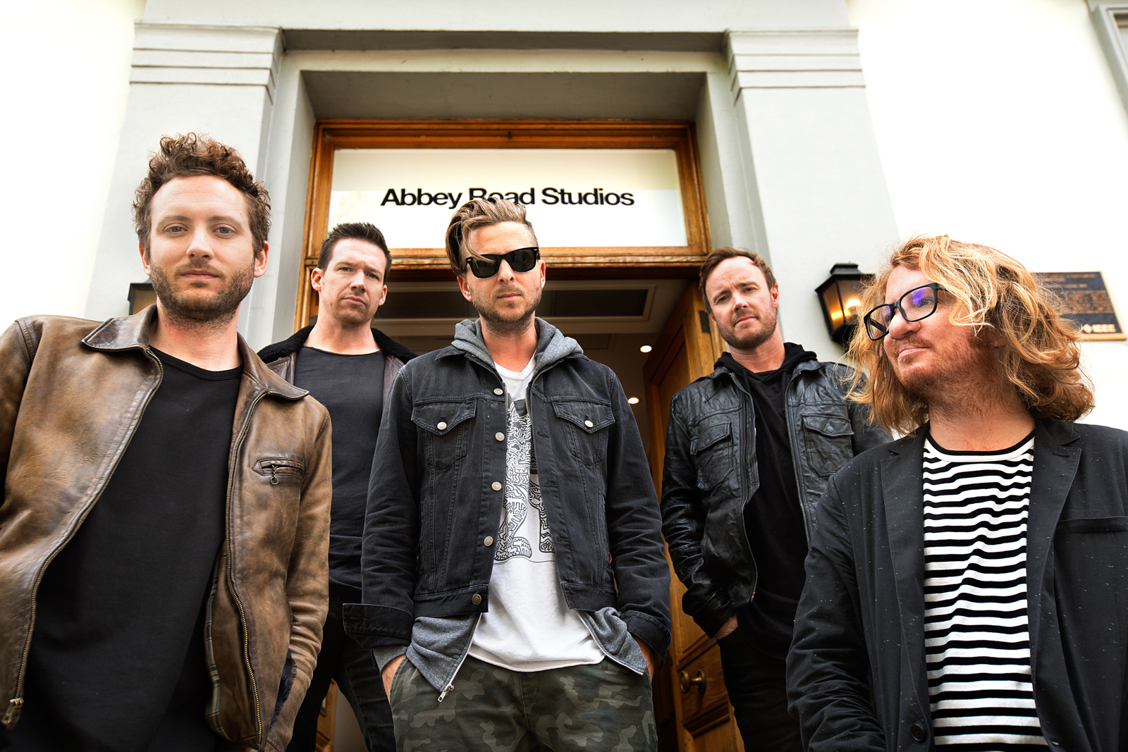 One Republic for Hilton by Boston based commercial celebrity photographer Brian Nevins