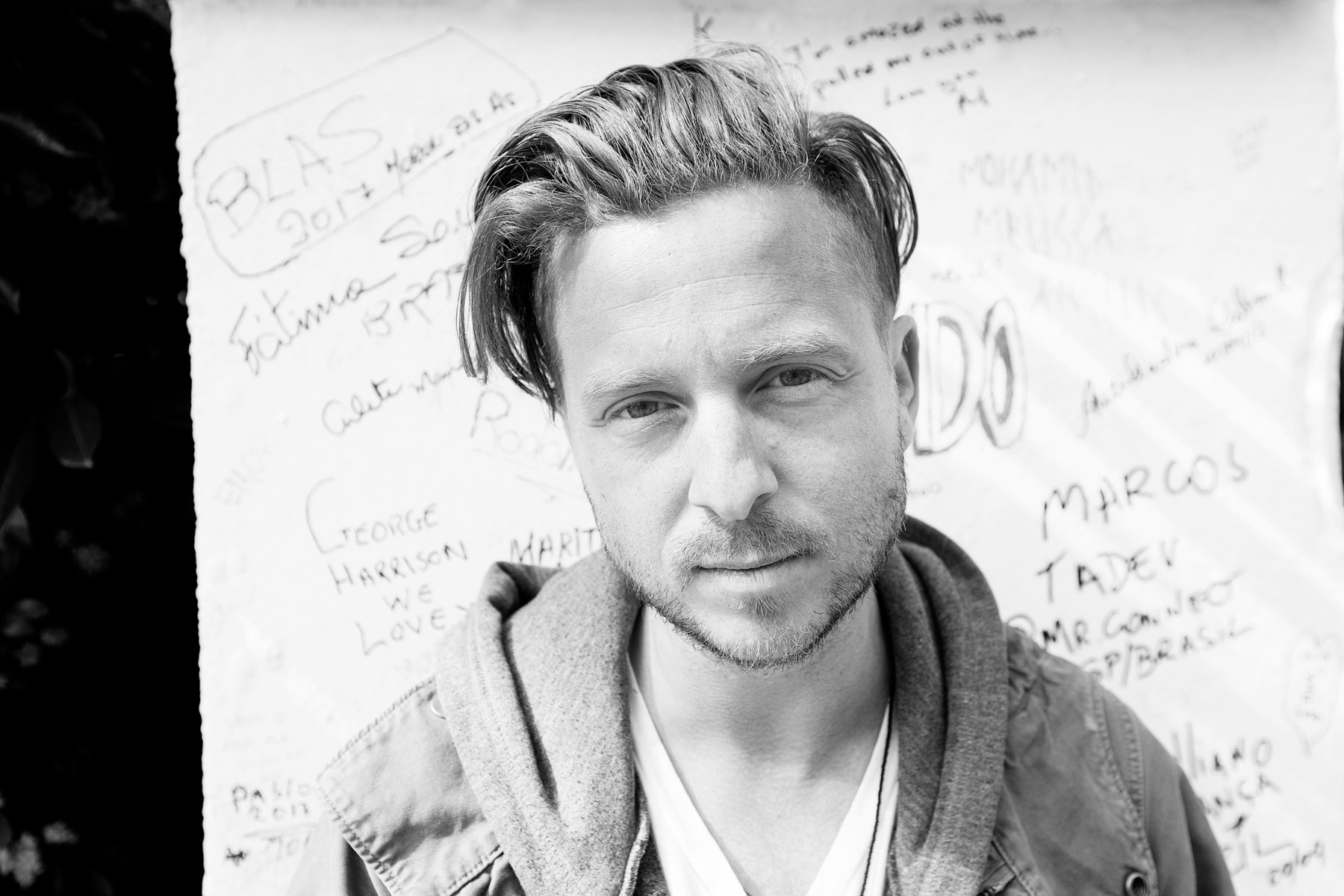 Ryan Tedder Hilton Spotify Live Nation Music Happens Here by Boston based commercial celebrity photographer Brian Nevins