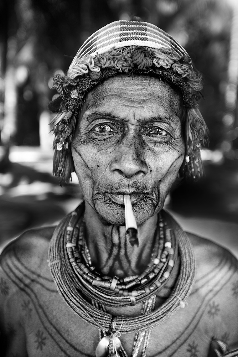 Indonesian Shaman by Boston based commercial portrait photographer Brian Nevins