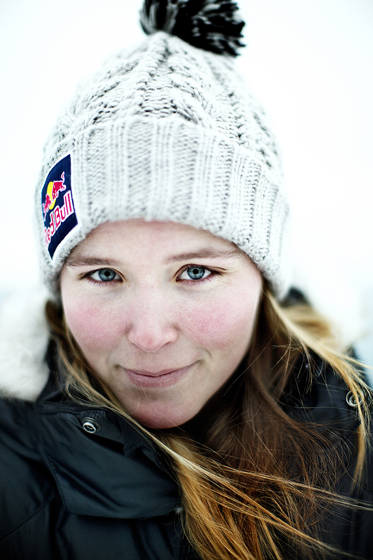 XGames female medalist Grete Eliassen for Red Bull by Boston based commercial portrait photographer Brian Nevins