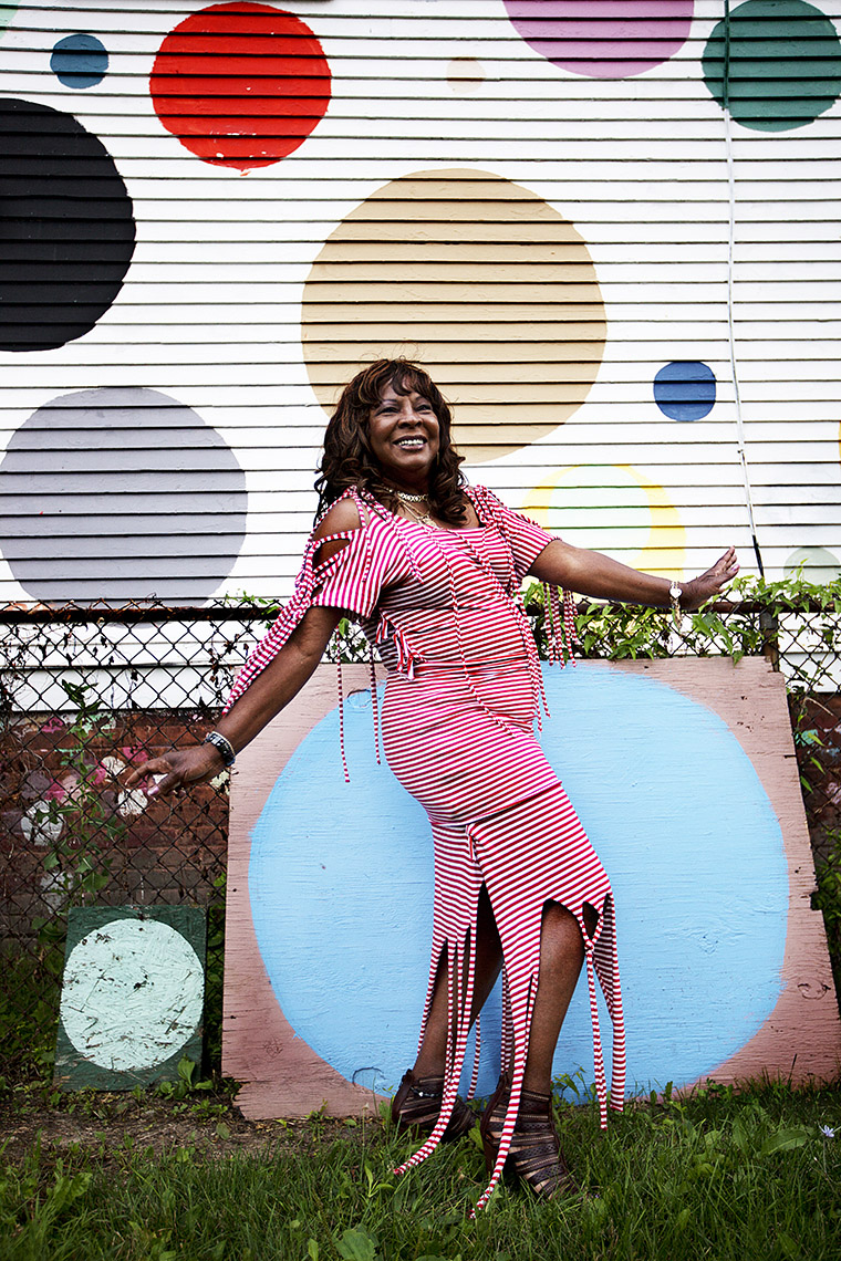 Martha Reeves in Detroit for Hyundai Re:Generation by Boston based commercial celebrity photographer Brian Nevins