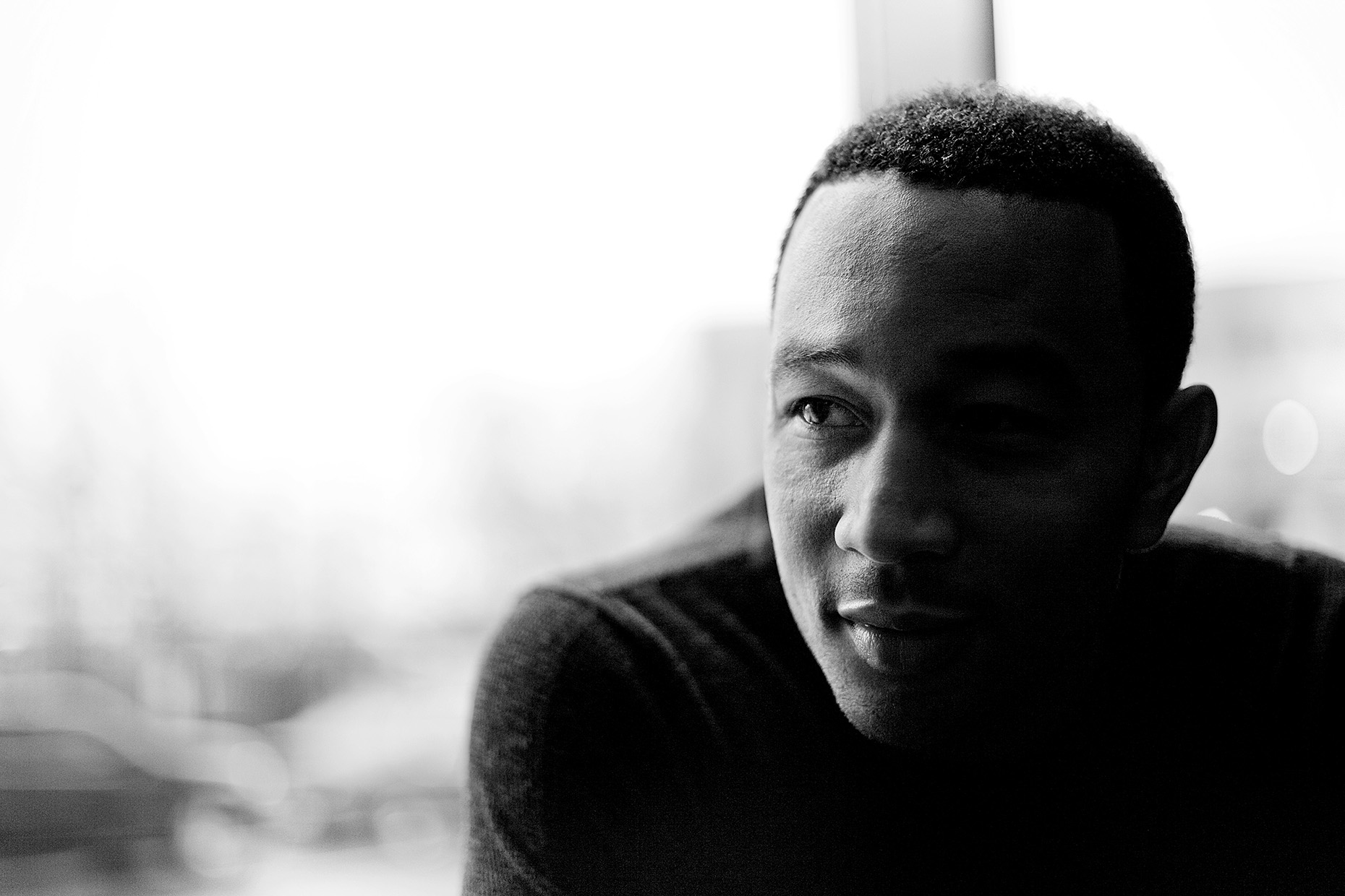 John Legend for American Express by Boston based commercial celebrity photographer Brian Nevins