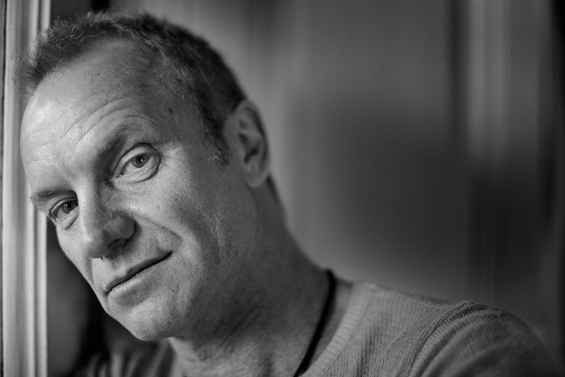 Sting by Boston based commercial celebrity photographer Brian Nevins
