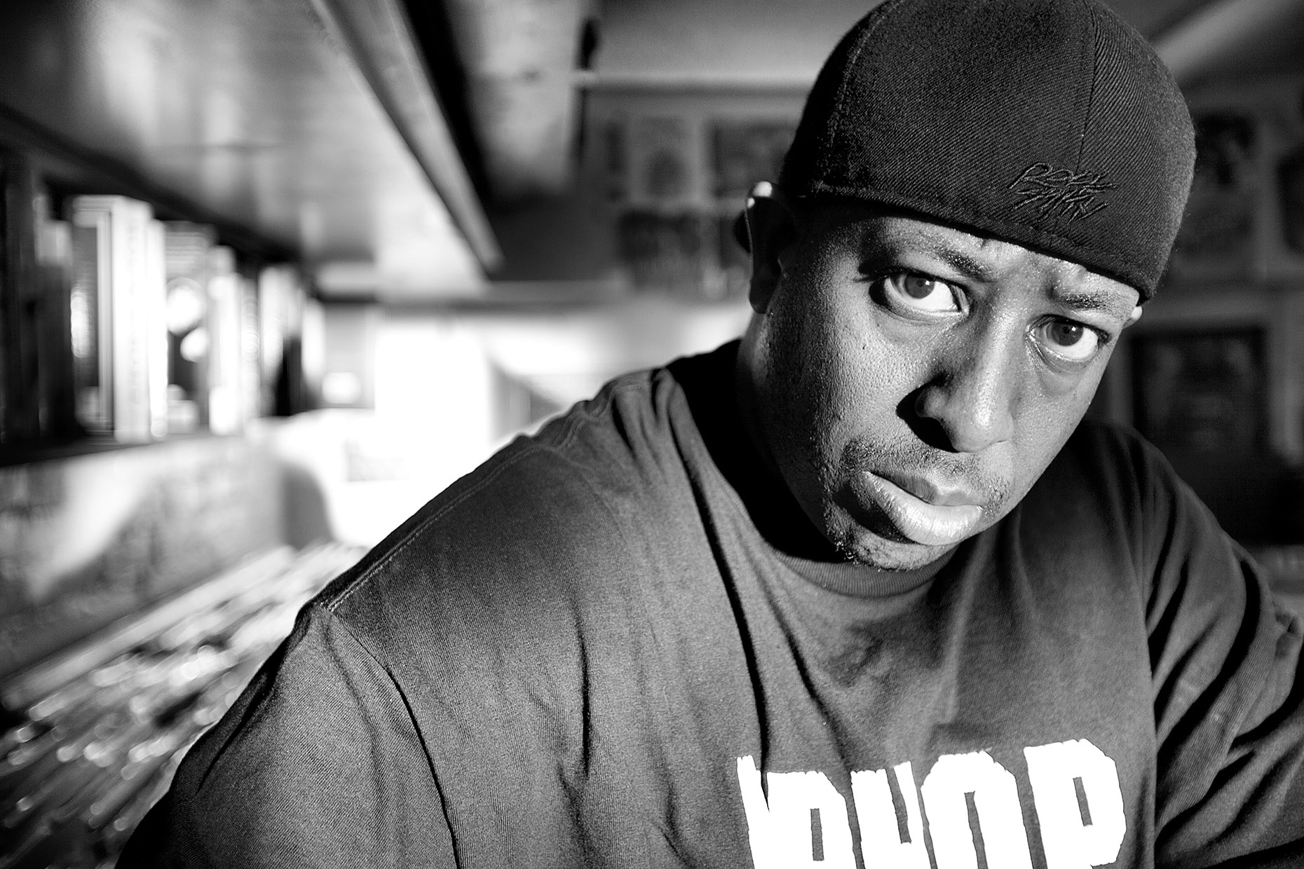 DJ Premier by Boston based commercial celebrity photographer Brian Nevins