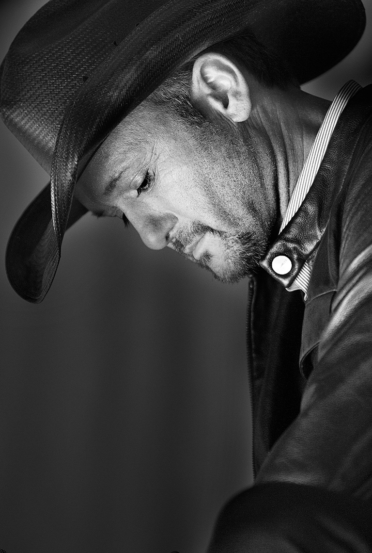 Tim McGraw by Boston based commercial celebrity photographer Brian Nevins