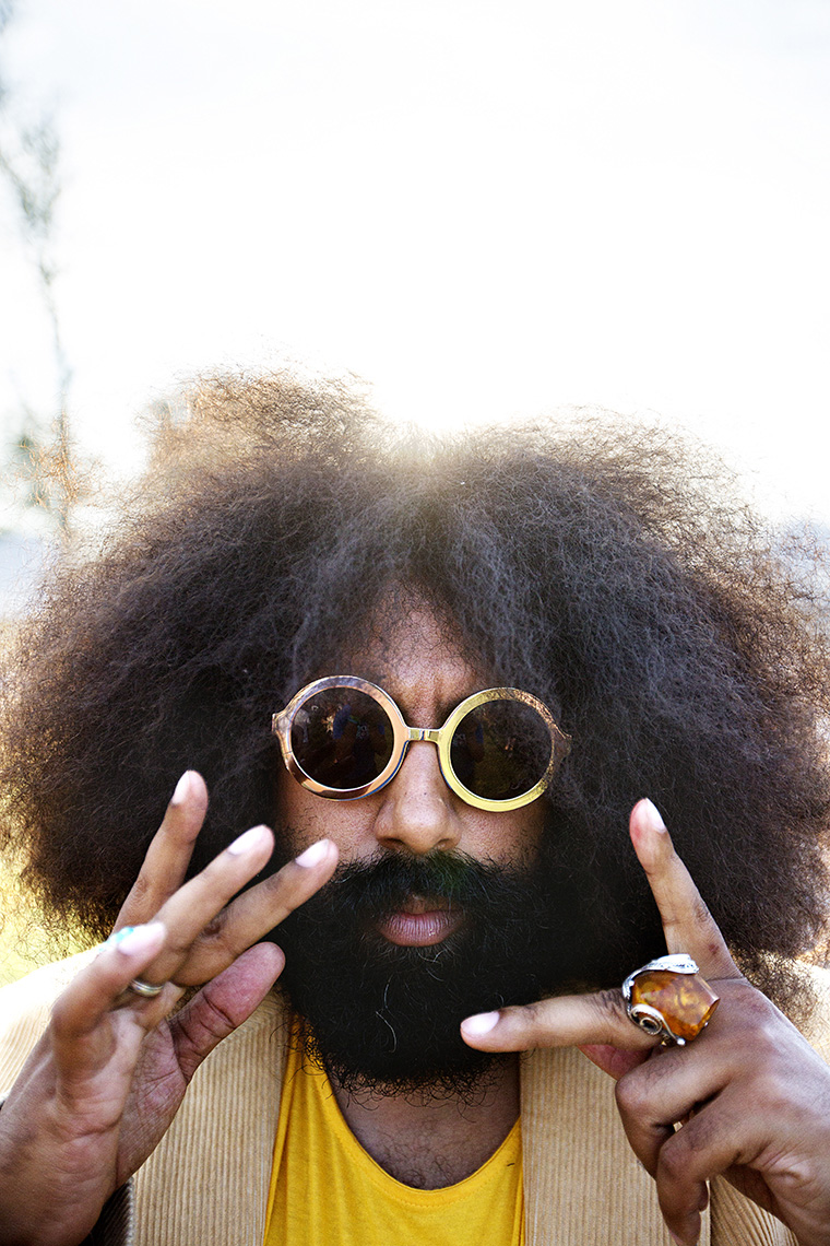 Reggie Watts by Boston based commercial celebrity photographer Brian Nevins