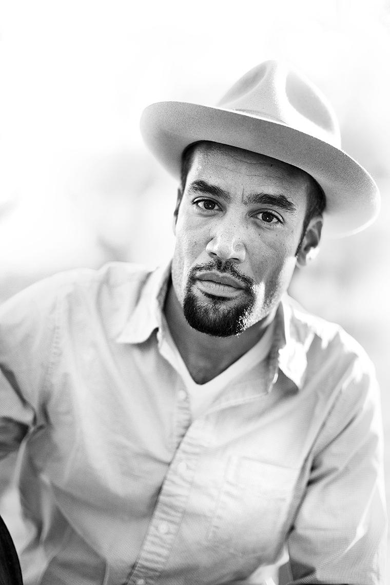 Ben Harper by Boston based commercial celebrity photographer Brian Nevins