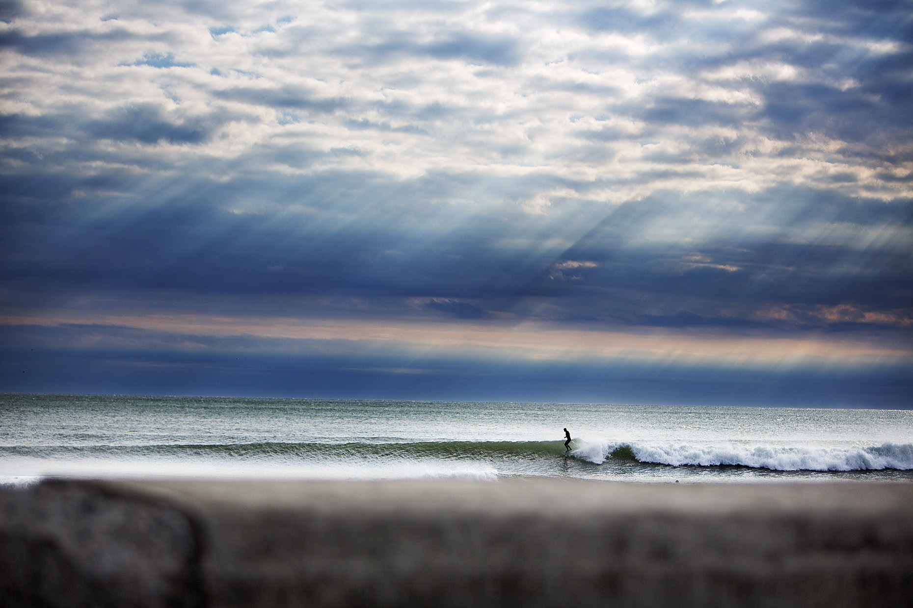 Winter Surfing in New Hampshire by Boston based commercial sports photographer Brian Nevins