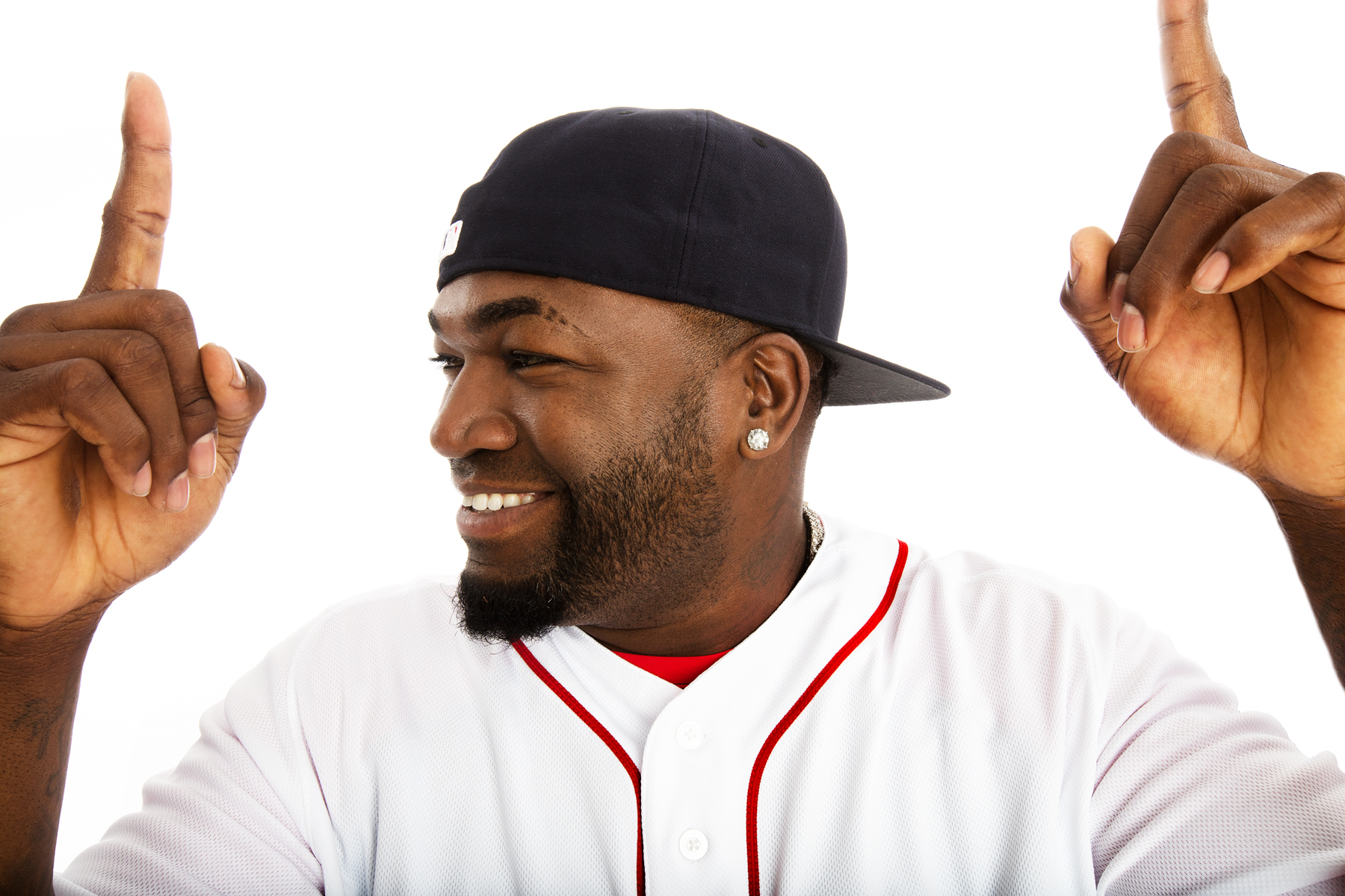 David Ortiz by Boston based commercial portrait photographer Brian Nevins