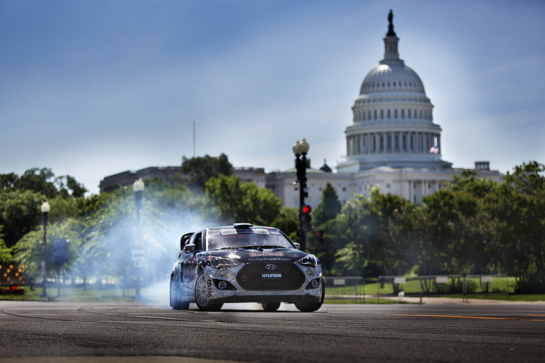 Rhys Millen, GRC for Red Bull in Washington DC by Boston based commercial sports photographer Brian Nevins