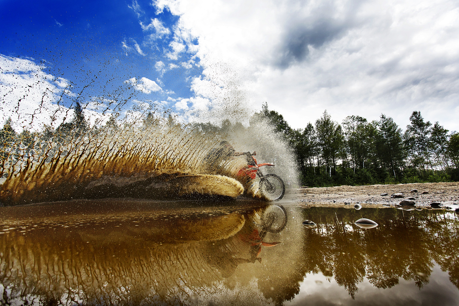 Dirt Bikes and enduro by Boston based commercial sports photographer Brian Nevins