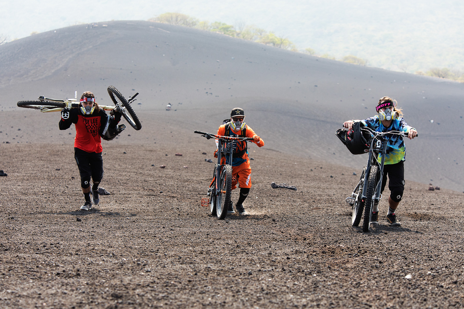 Volcanico mountain bike for Schwalbe and Flor De Cana by Boston based sports photographer Brian Nevins