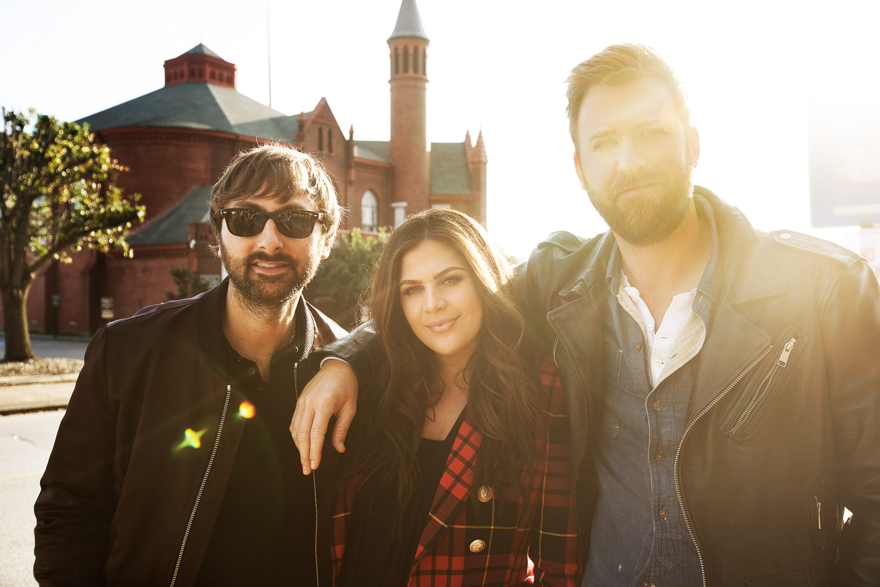 Lady Antebellum Hilton Spotify Live Nation Music Happens Here by Boston based commercial celebrity photographer Brian Nevins