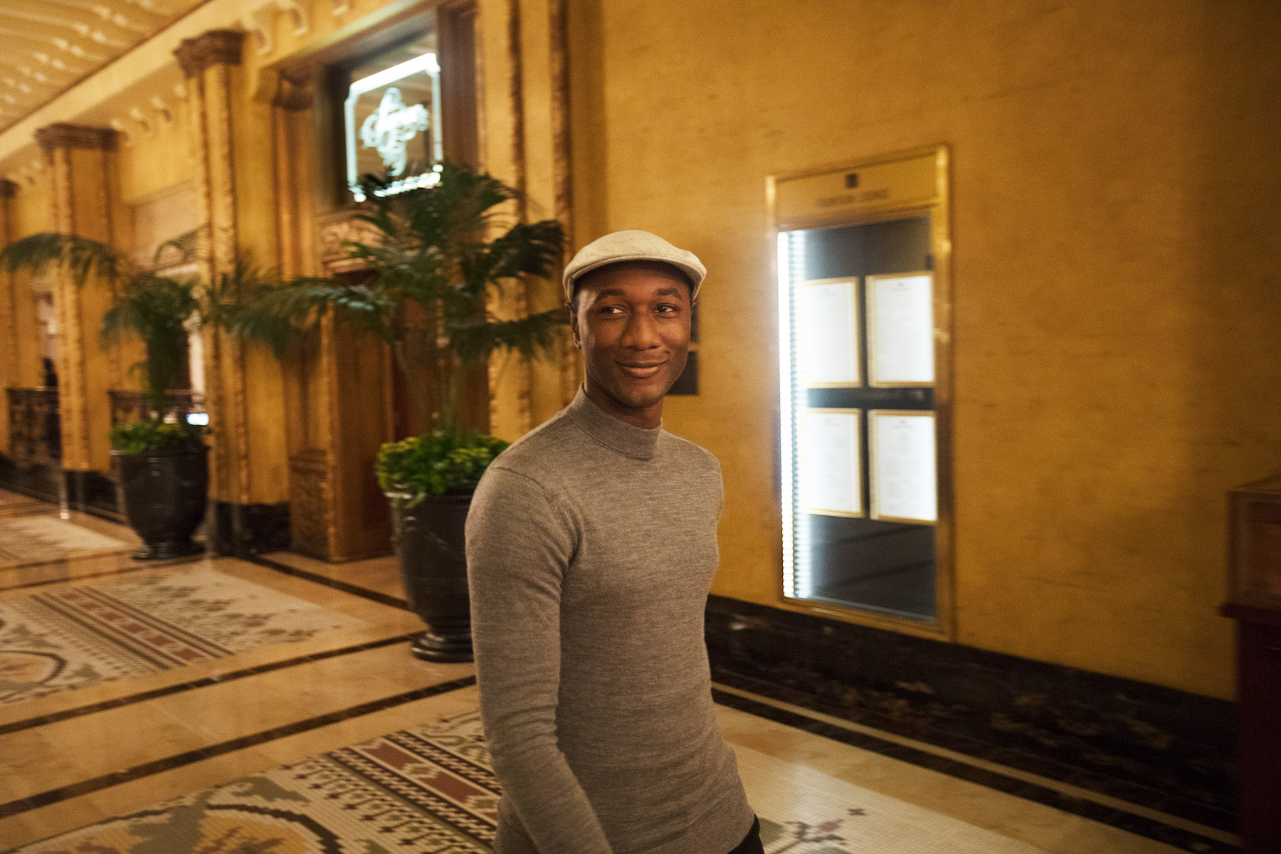Aloe Blacc Hilton Spotify Live Nation Music Happens Here by Boston based commercial celebrity photographer Brian Nevins